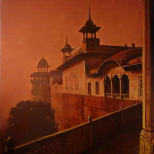 Indian Palace 1. Oil On Canvas 90 x 60 cm