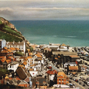 Hastings Old Town 3. Oil On Canvas 100 x 70 cm