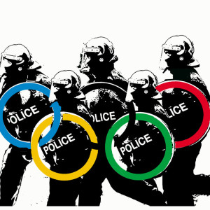 Olympic Police. Photoshop