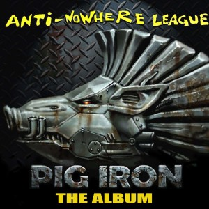 Pig Iron Album Cover. Oil On Canvas 50 x 50 cm with Photoshop