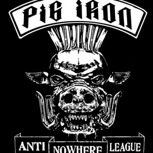 ANTI NOWHERE LEAGUE T shirt